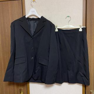 インエ(i.n.e)のi.n.e リクルートスーツ 黒(スーツ)