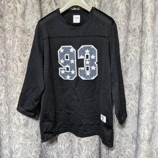 ベドウィン(BEDWIN)のBEDWINベドウィン メッシュ地ナンバリングカットソー(Tシャツ/カットソー(半袖/袖なし))