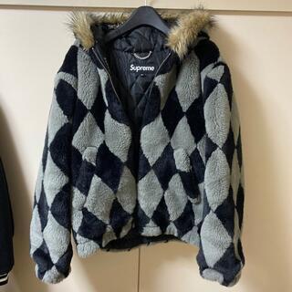 シュプリーム(Supreme)のSupreme 18aw  diamond faux fur jacket (ブルゾン)