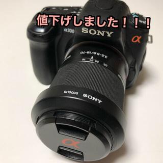 SONY - SONY DSLR−A300 DSLR-A300K(B)