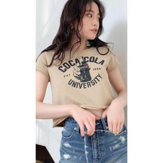 ジェイダ(GYDA)のCOCA-COLA UNIVERSITYショートTシャツ  新品(Tシャツ(半袖/袖なし))