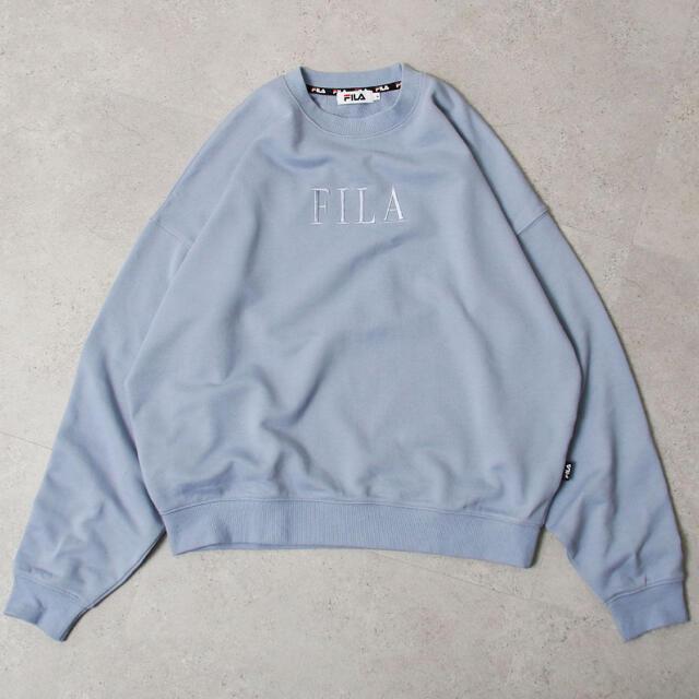 FILA(フィラ)の【FILA】【Chillfar 別注】デザインロゴ刺繍ビッグスウェット レディースのトップス(トレーナー/スウェット)の商品写真