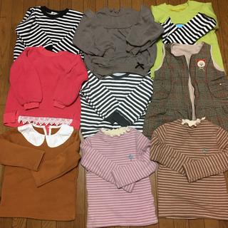 セラフ(Seraph)の韓国子供服moimoln 100サイズSeraphセラフ冬服女の子まとめ売り8点(Tシャツ/カットソー)