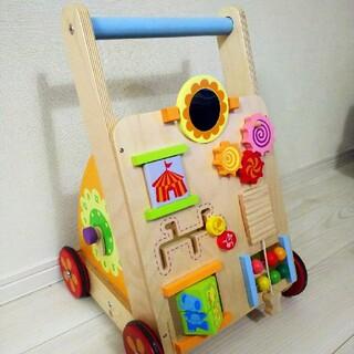 木製手押し車🍼(手押し車/カタカタ)
