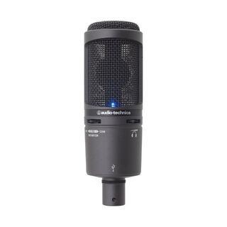 オーディオテクニカ(audio-technica)のaudio-technica AT2020USB+ マイクスタンド(PC周辺機器)