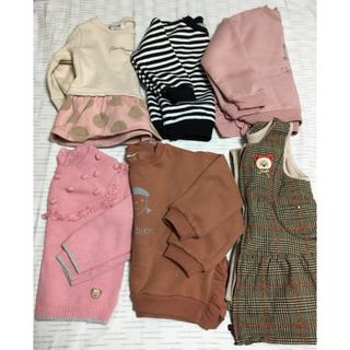 プティマイン(petit main)の未使用美品プティマインmoujonjon子供服冬服まとめ売り6点(ジャケット/上着)