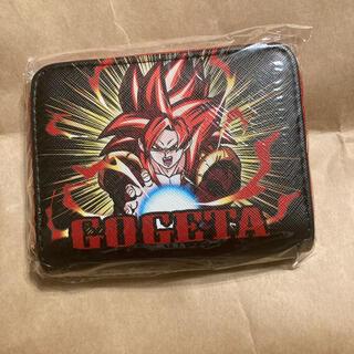 ドラゴンボール(ドラゴンボール)のドラゴンボール ファスナーウォレット 財布  ゴジータ レッド(キャラクターグッズ)