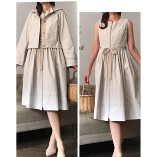 エムズグレイシー(M'S GRACY)の5way coat gile dress Saison Nouvelle(スプリングコート)