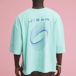 ジエダ(Jieda)のJieDa CIRCLE PRINT T-SHIRT GREEN(Tシャツ/カットソー(半袖/袖なし))