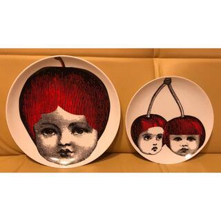 アチャチュムムチャチャ(AHCAHCUM.muchacha)のあちゃちゅむ りんご&さくらんぼのお皿セット(食器)