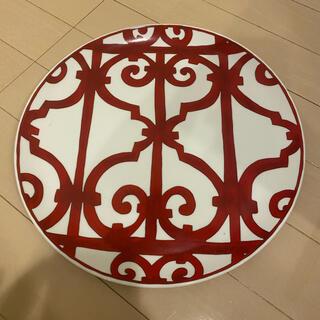 エルメス(Hermes)のエルメス HERMES ガダルキヴィール レッド お皿 32cm (食器)