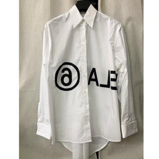 マルタンマルジェラ(Maison Martin Margiela)の希少 入手困難 メゾンマルジェラ ホワイトシャツ(シャツ/ブラウス(長袖/七分))