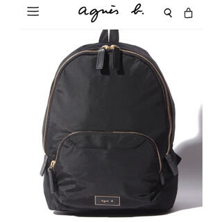agnes b. - ★新品未開封★アニエスべー リュックサック バックパック ブラック 黒