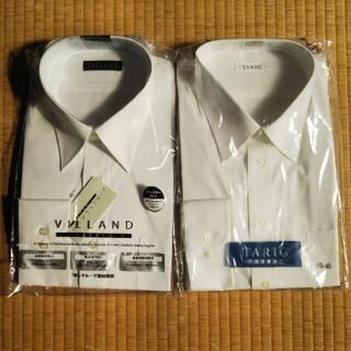 アオキ(AOKI)のワイシャツ メンズ 長袖 白 2枚セット(シャツ)