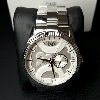 ドルチェアンドガッバーナ(DOLCE&GABBANA)の美品 ドルガバ 「ツインチップ」 メンズ腕時計 D&G(腕時計(アナログ))