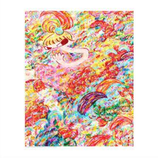 魔法の手 ロッカクアヤコ作品展 ポスター(アート/エンタメ)
