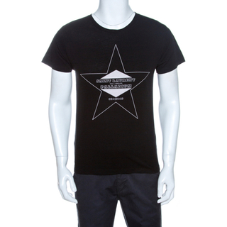 サンローラン(Saint Laurent)の着丈67.5cm【美品】サンローラン Tシャツ ハリウッド クリーニング済み✨(Tシャツ/カットソー(半袖/袖なし))