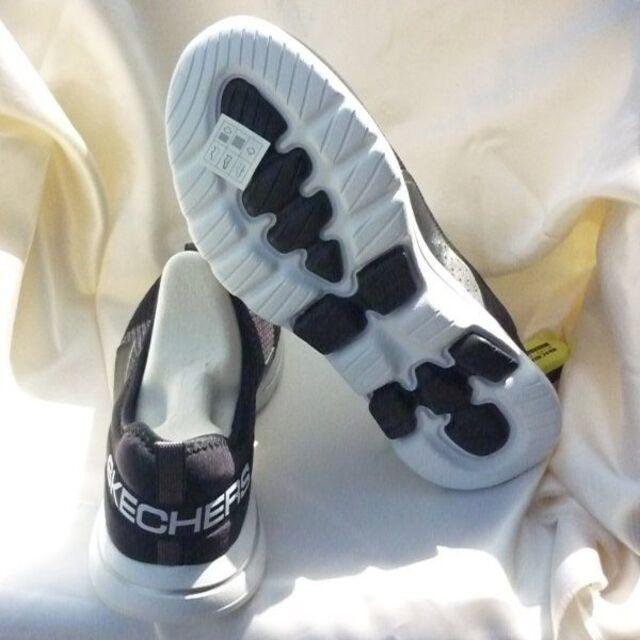 SKECHERS(スケッチャーズ)の新品25cm★スケッチャーズ/SKECHERS GO WALK 5/黒スリッポン レディースの靴/シューズ(スリッポン/モカシン)の商品写真