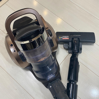 Panasonic - パナソニック サイクロン式掃除機 MC-SR550G-N 黒金色 動作