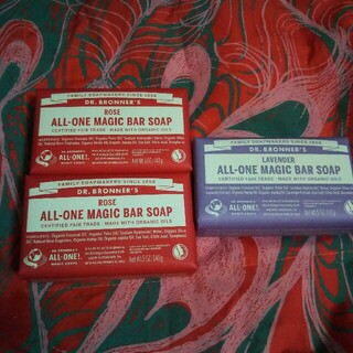 ジョンマスターオーガニック(John Masters Organics)の未使用品✨ジョンマスターオーガニック❤石鹸❤F&Vソープ〈フィグ&ベチバー〉2個(ボディソープ/石鹸)