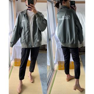 フラグメント(FRAGMENT)の美品B級品FRAGMENT × CLANE CWU-36pジャケット(ノーカラージャケット)