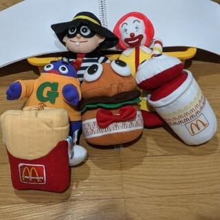 マクドナルド(マクドナルド)の懐かしい✿マクドナルドキャラクター6体セット ぬいぐるみ 人形(ぬいぐるみ)
