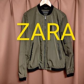 ザラ(ZARA)のZARA ボンバージャケット メッシュ(ナイロンジャケット)