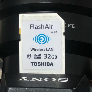 トウシバ(東芝)の東芝 flashair w-02 sdカード 32gb(その他)