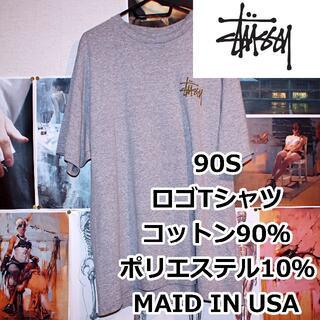 ステューシー(STUSSY)のSTUSSY/90S/Tシャツ/USA製/バックプリントロゴ(Tシャツ/カットソー(半袖/袖なし))