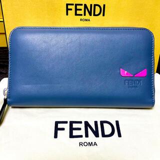 FENDI - 【未使用新品】FENDI フェンディ 長財布 モンスター バグス 高級✨
