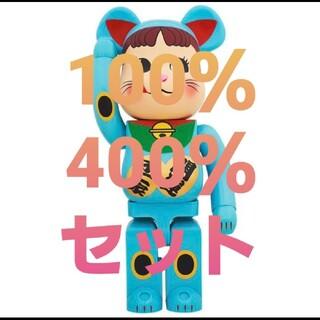 メディコムトイ(MEDICOM TOY)のBE@RBRICK 招き猫 ペコちゃん 400%(その他)