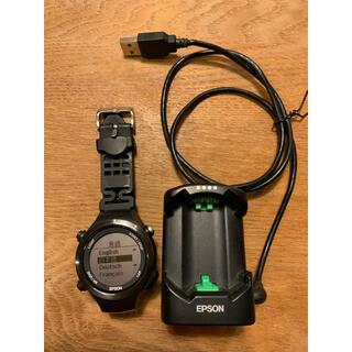 エプソン(EPSON)のEPSON エプソン Writable GPS SF-810(腕時計(デジタル))