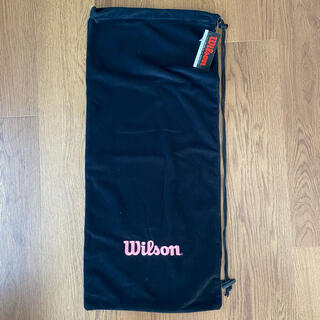 ウィルソン(wilson)のウィルソン テニスラケットケース 新品タグ付き(テニス)