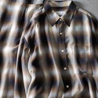 フィーニー(PHEENY)のPHEENY   オンブレチェックシャツ(シャツ/ブラウス(長袖/七分))