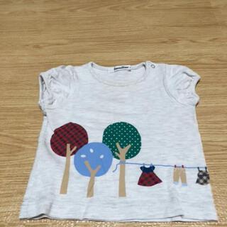 ファミリア(familiar)のファミリア  半袖 トップス Tシャツ 70〜80(Tシャツ)