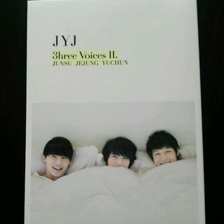 ジェイワイジェイ(JYJ)のJYJ 3hree Voices Ⅱ DVD (その他)