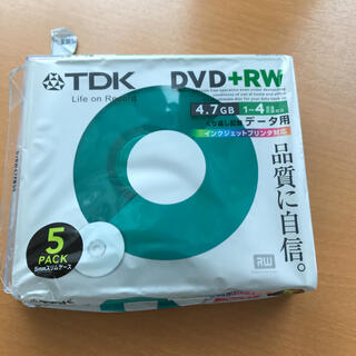 ティーディーケイ(TDK)のDVD +  RW 新品未使用(その他)