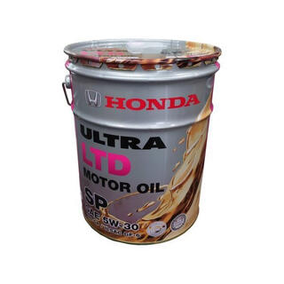ホンダ(ホンダ)のHonda(ホンダ)純正 エンジンオイル ウルトラ LTD SP5W-3020L(メンテナンス用品)