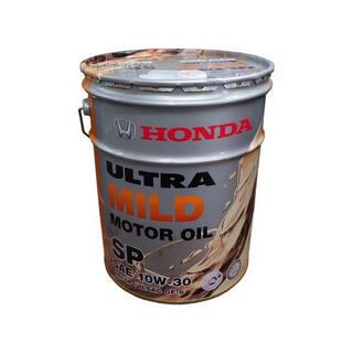 ホンダ(ホンダ)のHonda純正 エンジンオイル ウルトラ MILD SP 10W-30 20L (メンテナンス用品)