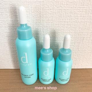 ディープログラム(d program)のdプログラム バランスケア 化粧水 ローション MB 敏感肌 肌荒れ(サンプル/トライアルキット)