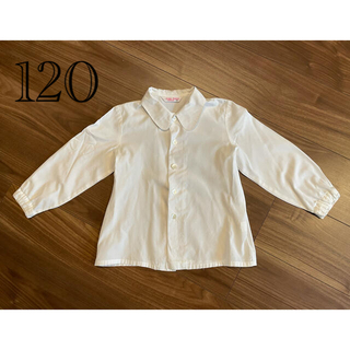 ユキトリイインターナショナル(YUKI TORII INTERNATIONAL)のあっちゃ様 トリイユキ ブラウス 120 110 ベレー帽 M(ブラウス)