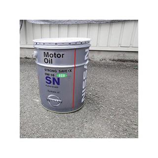 ニッサン(日産)のNISSAN エンジンオイル SNストロングセーブ・X 0W16 20L (メンテナンス用品)