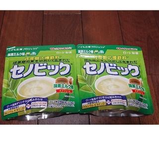 ロートセイヤク(ロート製薬)のセノビック 抹茶ミルク 224g 2個セット(その他)