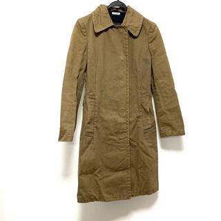 ミュウミュウ(miumiu)のミュウミュウ コート サイズ38 S - 長袖/冬(その他)