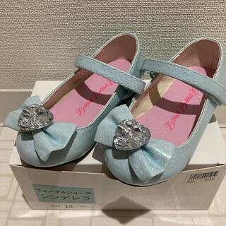 ディズニー(Disney)の【ニャンまる 様 専用】シンデレラ 靴 15cm(フォーマルシューズ)