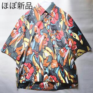 マルニ(Marni)のMARNI フラワープリント オーバーサイズ シャツ 44 半袖(シャツ)
