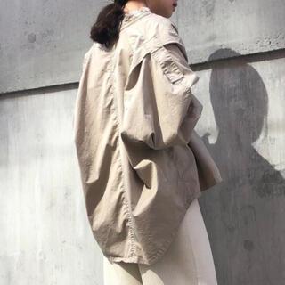 フローレント(FLORENT)の【美品】フローレント ミリタリーシャツ アウター(ミリタリージャケット)