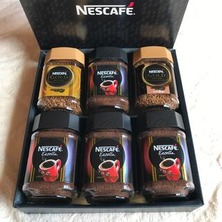 ネスレ(Nestle)のネスカフェ NESCAFE コーヒーギフト インスタントコーヒー 6個 未開封(コーヒー)