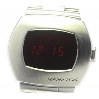 ハミルトン(Hamilton)の☆美品 ハミルトン PSR パルサー H524140 メンズ 【中古】(腕時計(デジタル))