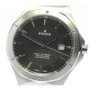 エドックス(EDOX)のエドックス デルフィン  53005 クォーツ メンズ 【中古】(腕時計(アナログ))